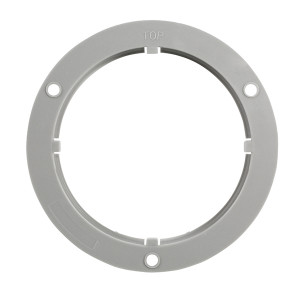 Flange for round lights