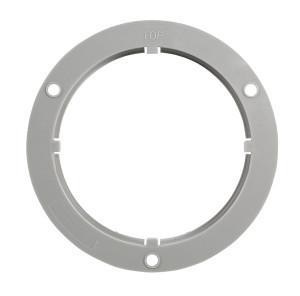 Flange for round lights
