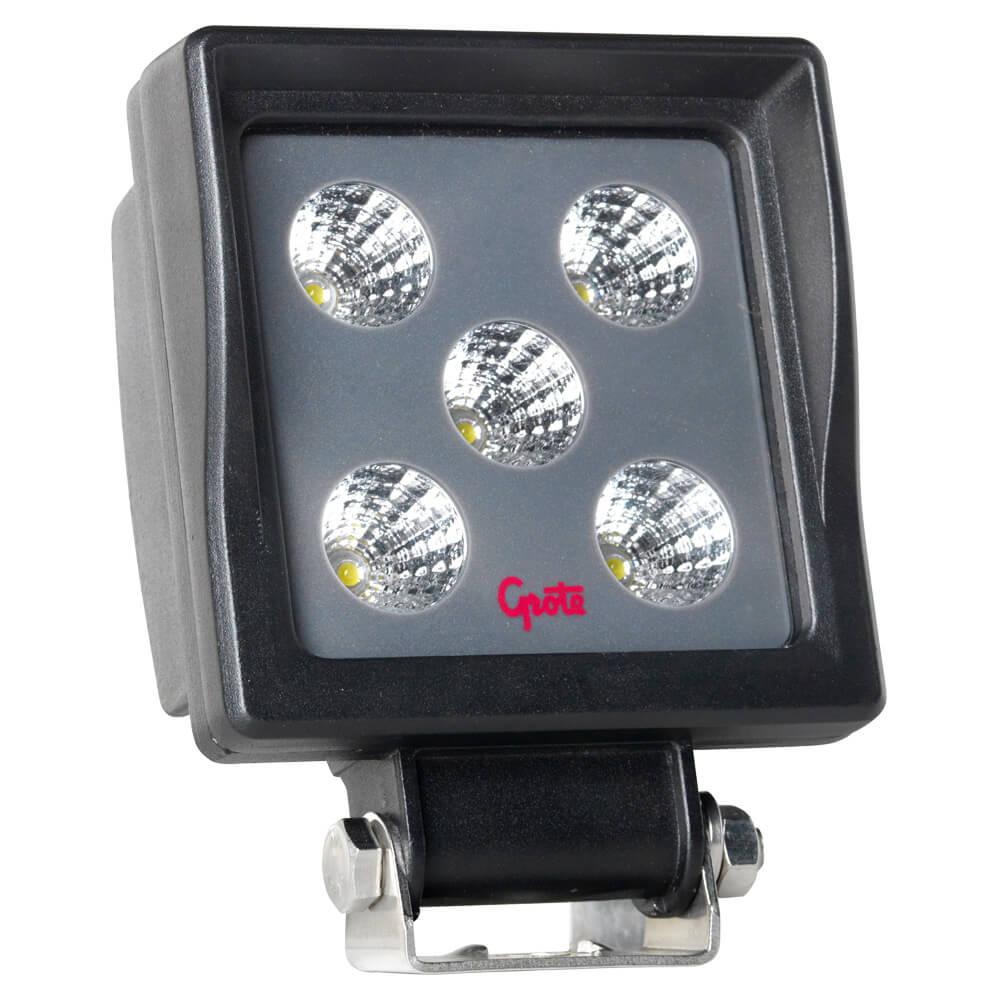 BriteZone™ LED Work Light, 1100 Lumens, Square, Flood
