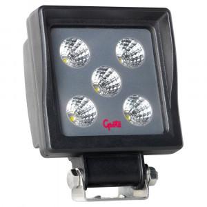 Lampe de travail à DEL BriteZone™, 1100 lumens, Carré, À faisceau large