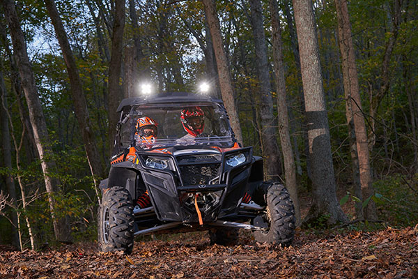 BriteZone LED Lights on off-road ATV