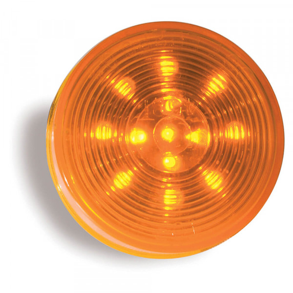 optic yellow hi count 2 half led clearance marker light