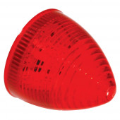 hi count 2 1/2 13 diode beehive led light red