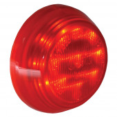 hi count 9 diode led clearance marker light red