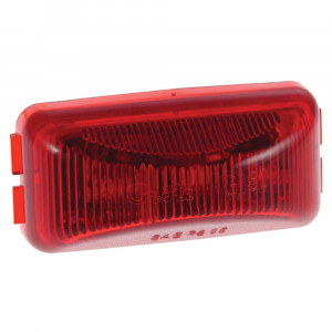 red hi count 3 diode led clearance marker light