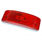 hi count trutleback ii led clearance marker light red