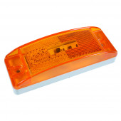 hi count trutleback ii led clearance marker light yellow thumbnail