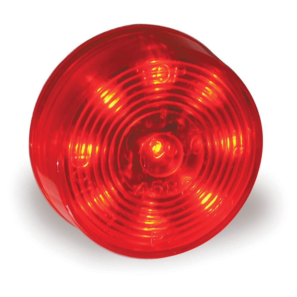 red hi count 9 led clarance marker light