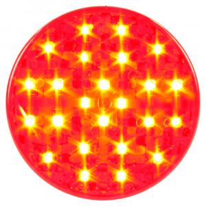 "hi count led 4"" light red"