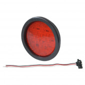 "4"" hi count stop tail turn led red kit"