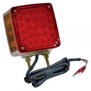 Double-Face LED Stop Tail Turn Light with Side Marker