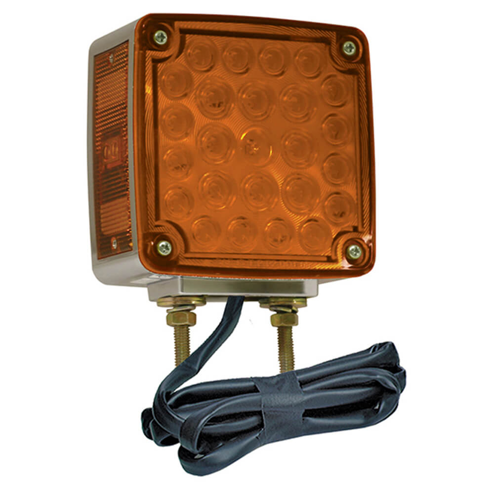 LED Stop Tail Turn Light with Sidemarker and Packard Connector