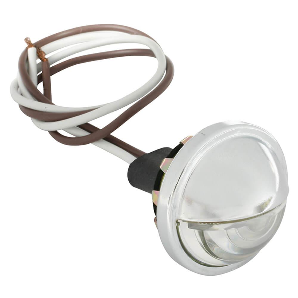Luz LED compacta de cortesía, transparente