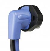90 degree Plug & Receptacle with standard 0.180 female plugs back thumbnail