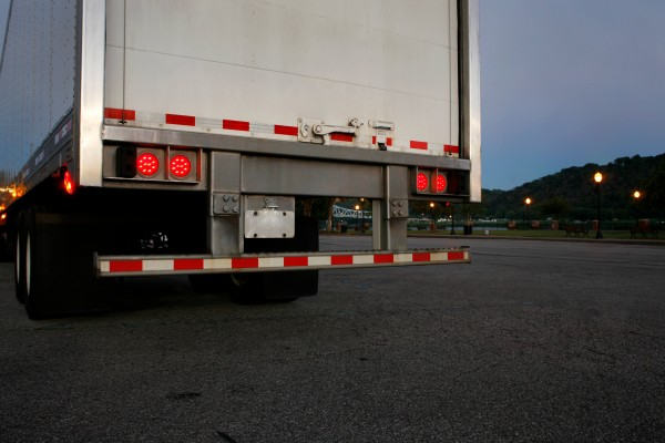 Grote LED Stop Tail Turn Lights on trailer