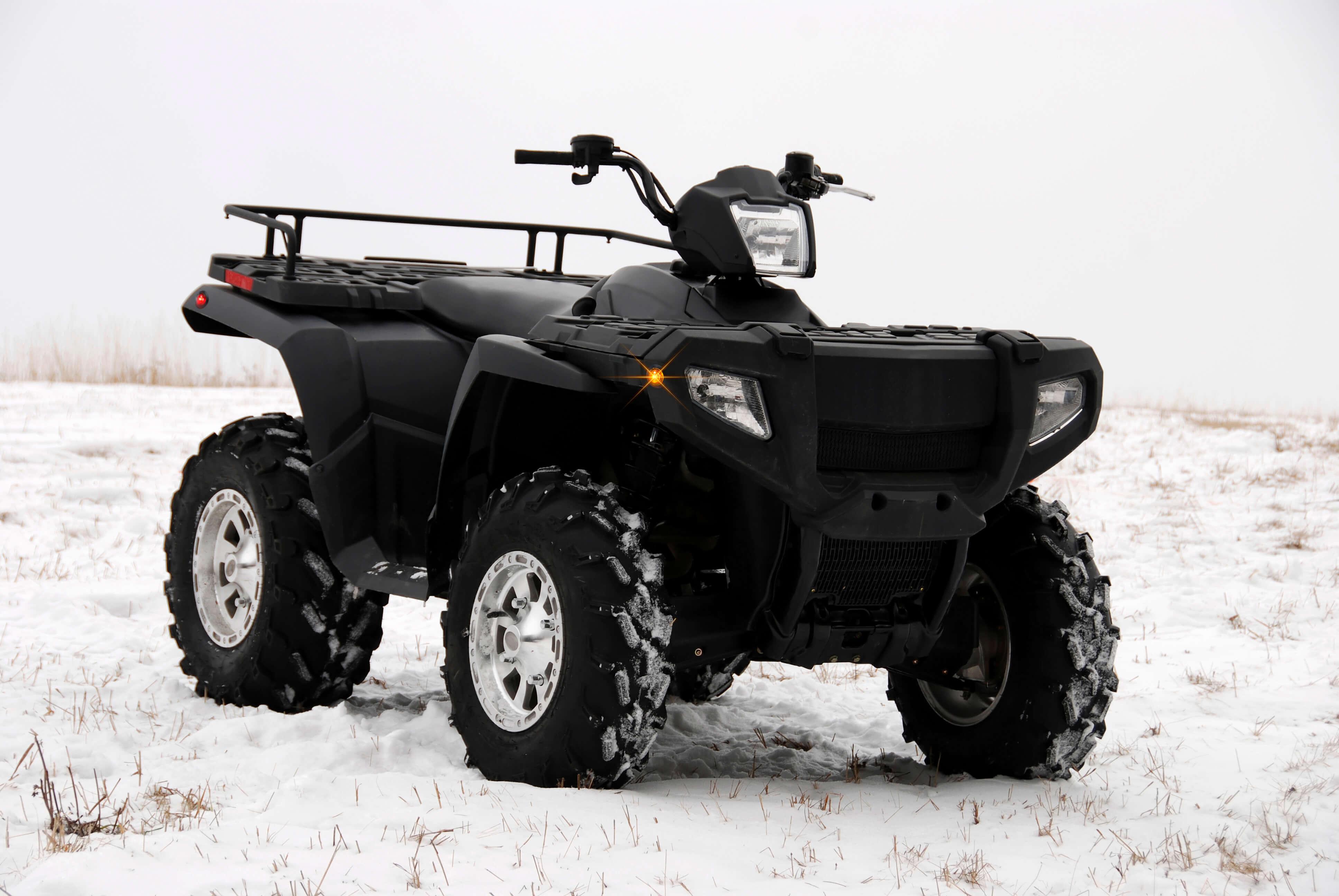 Grote Micronova Dot LED lights on ATV