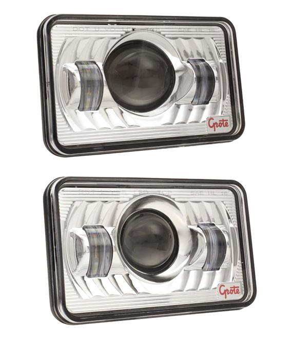 Grote 4x6 LED Headlights