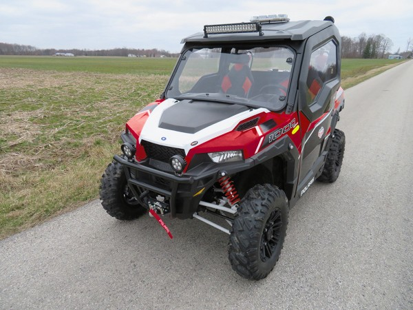 Grote LED Light Bar on ATV