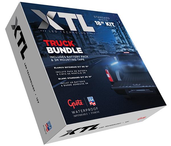 Caja de juego deluces para plataforma de camionetaXTL