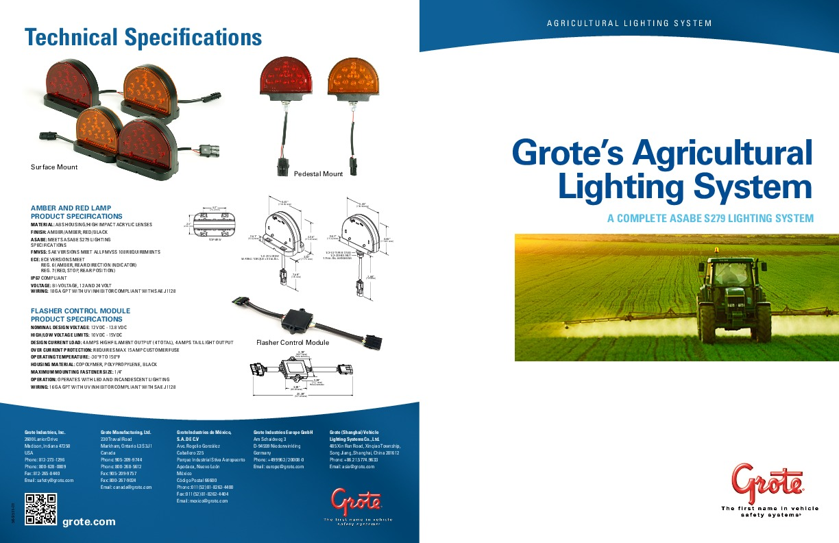Grote's Agricultural Lighting System (4.0MB)