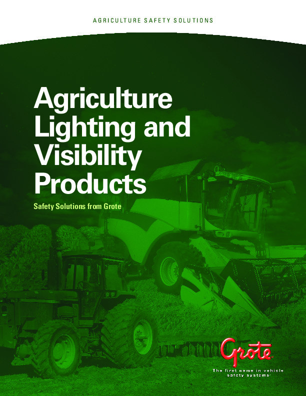 Agriculture Lighting and Visibility Products (22.1MB)