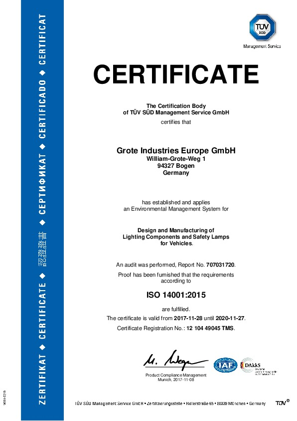 ISO 14001 (anglais)