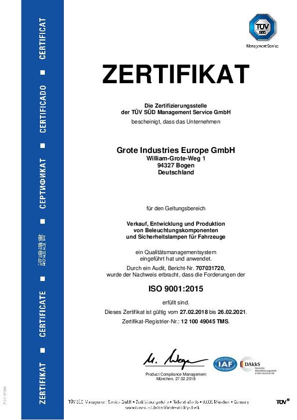 ISO 9001 (Alemán)