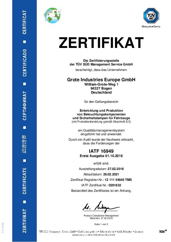 IATF 16949 (allemand)