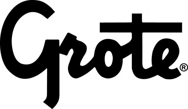 Logotipo negro de Grote - Vector PDF