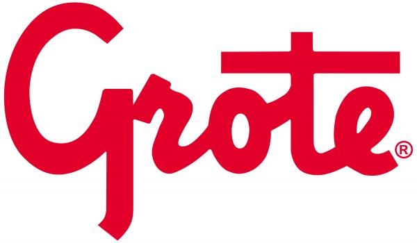 Logotipo rojo de Grote - Vector PDF