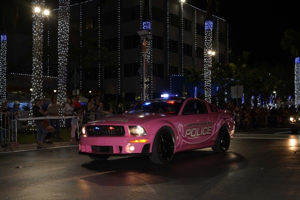 Grote LED Mini Light Bars on North Miami Beach Police Car