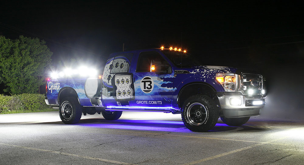 Grote's new 2016 T3 F-250 Truck