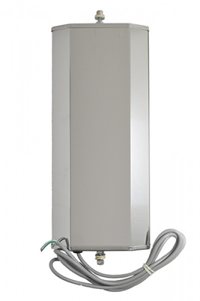 Ice & Frost-Free Heated West Coast Mirror, Stainless steel back