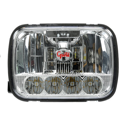 90951 5 Grote 5x7 Led Headlight