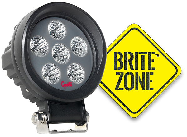 BZ101-5 LED Work Light with BriteZone Logo