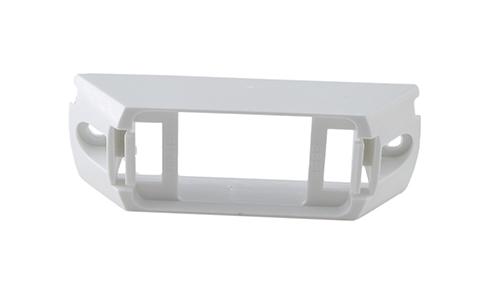 Header-Mount Bracket For Small Rectangular Lights, White - 360
