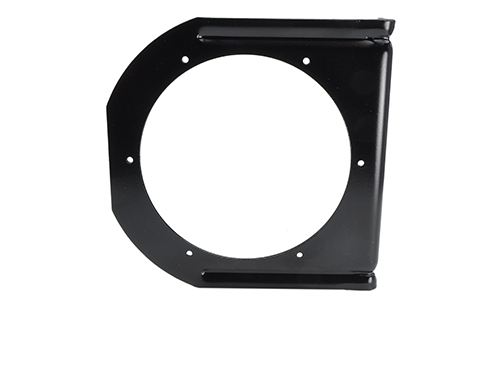 "Mounting Bracket For 4"" Round Lights, 90° Angle, Black - 360"