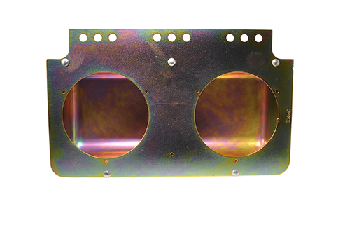 "Mounting Module For 4"" Round Lights, Yellow Zinc - 360"
