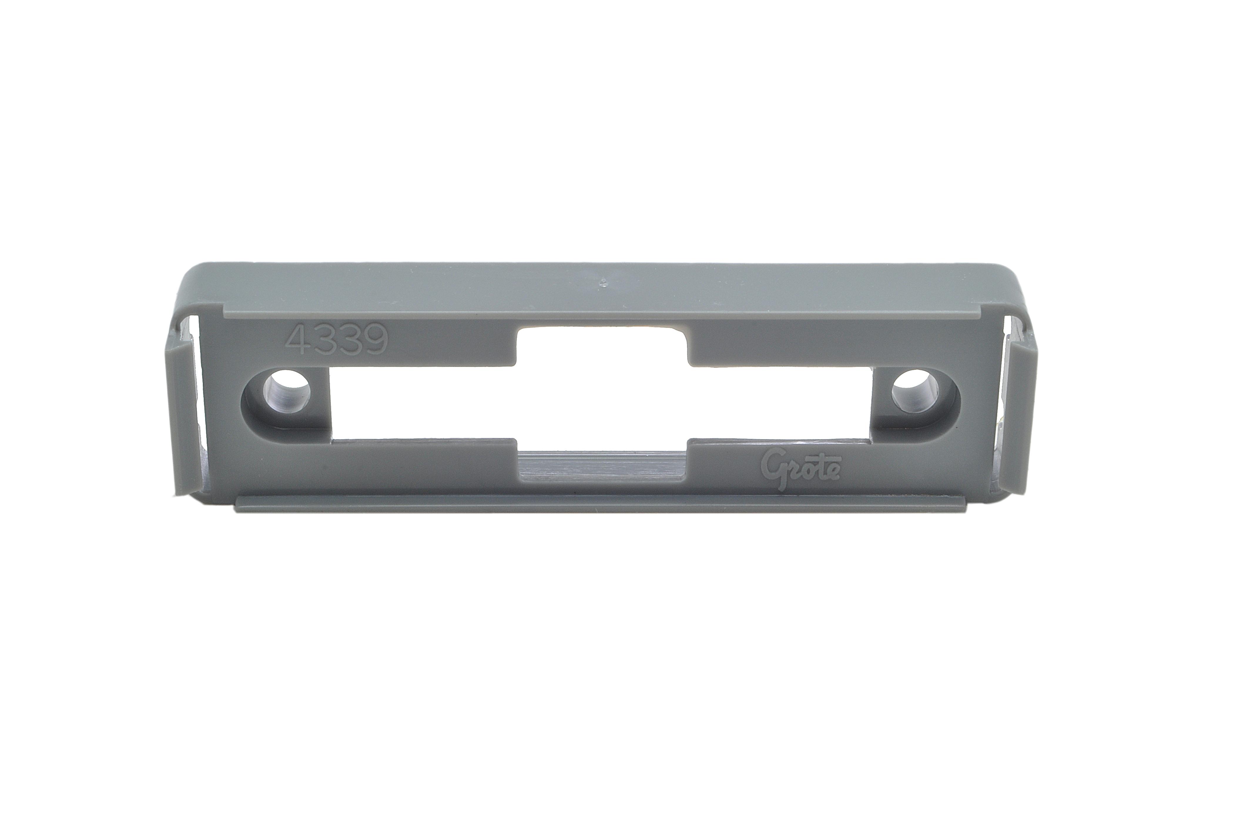 Mounting Bracket For Large Rectangular Lights, Gray - 360