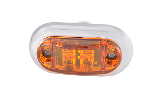 "2 1/2"" Oval LED Clearance Marker Lights - 360"