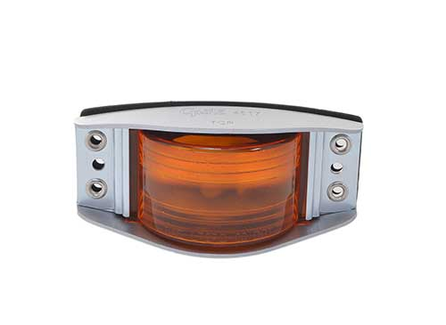 narrow rail clearance marker light red amber - 360