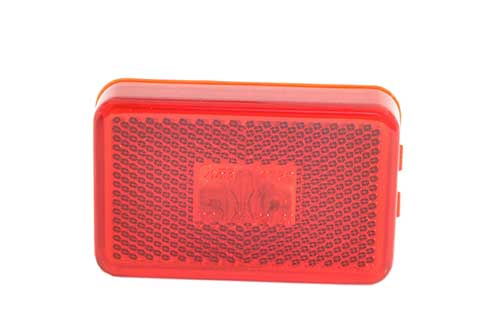 clearance marker light reflector red - 360