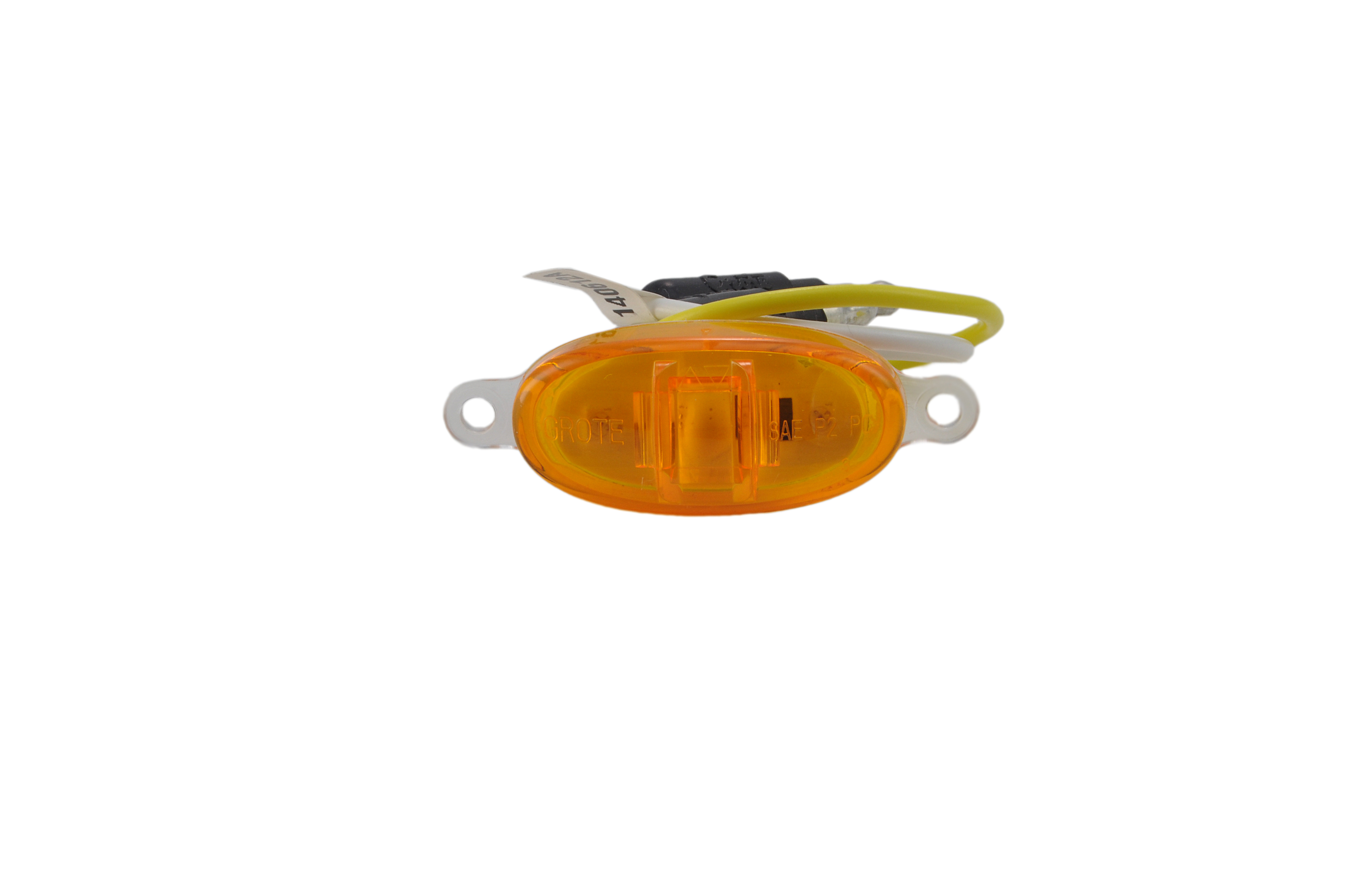 Yellow LED Clearance Marker Light Without Chrome Bezel. - 360