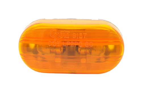 two bulb no splice clearance marker light yellow - 360