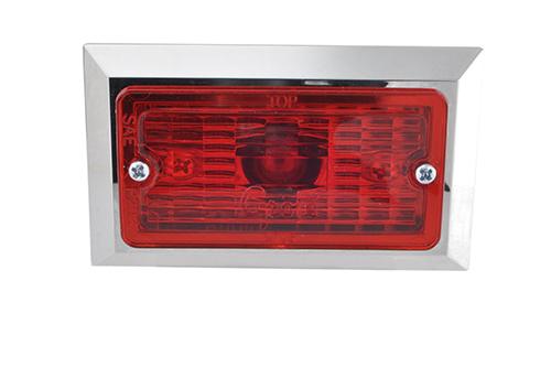 rectangular clearance marker light red - 360