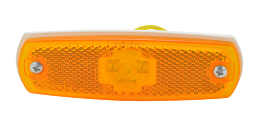 supernova low profile led clearance marker light yellow - 360
