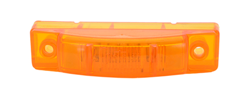 supernova thin line led clearance marker light pc yellow - 360