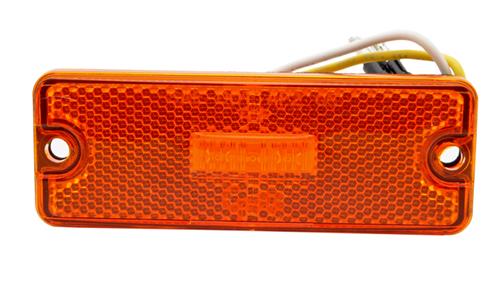 Sealed Rectangular LED Clearance Marker Light, Yellow - 360