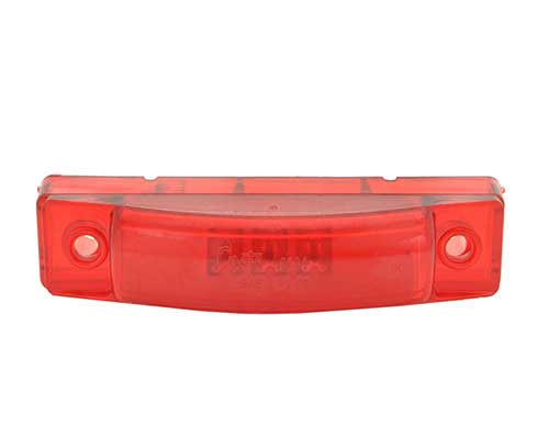 Red Thin-Line Dual Intensity LED Clearance Marker light - 360