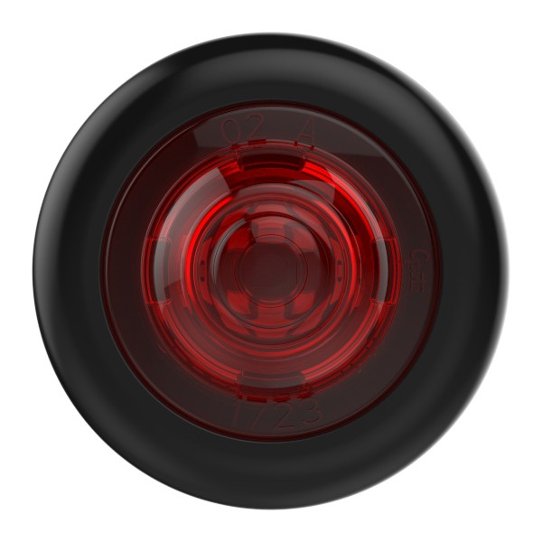 MicroNova® Dot Red 24 Volt LED Clearance Marker Light With Grommet. - 360